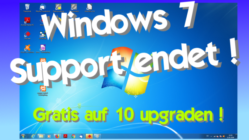 Gratis Windows 10 Upgrade Windows 7