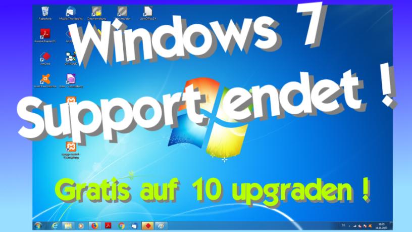 Gratis Windows 10 Upgrade Windows 7